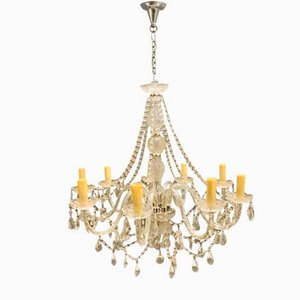 Large Vintage Murano Glass Chandelier, 1960s