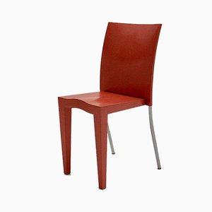 Pinker italienischer Vintage Beistellstuhl von Phillipe Starck für Kartell, 1980er