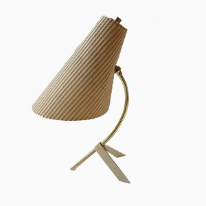 Tripod Table Lamp by Rupert Nikoll for Nikoll, 1950s