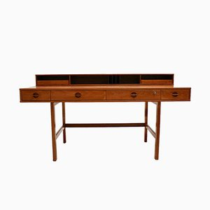 Vintage Danish Teak Desk by Jens Quistgaard for Lovig Dansk, 1960s