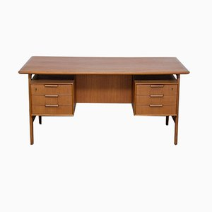 Teak Model 75 Desk from Omann Jun, 1960s