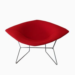 Diamond Lounge Chair by Harry Bertoia for Knoll Inc. / Knoll International, 1990s
