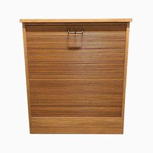 Oak Jalousie Cabinet, 1960s