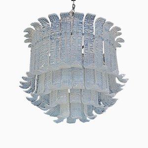 Kronleuchter mit Behang aus Muranoglas von Barovier & Toso, 1970er