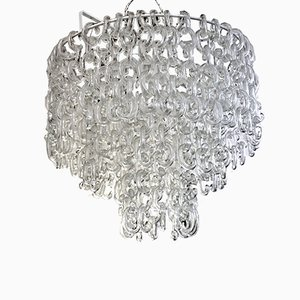 Chandelier by Giusto Toso for Fratelli Toso, 1960s