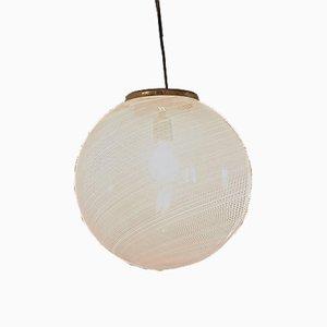 Lámpara de techo de Laura Diaz de Santillana para Venini, años 60