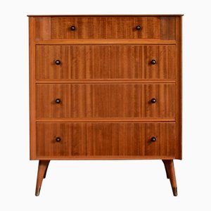 Mid-Century Teak and Brass Dresser from Austinsuite, 1960s