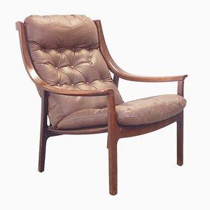 Skandinavischer Sessel, 1970er