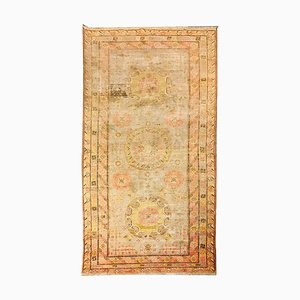 Vintage Uzbek Carpet, 1950s