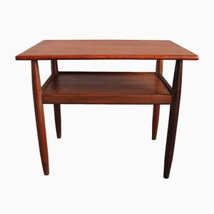 Mid-Century Danish Teak Side Table, 1960s