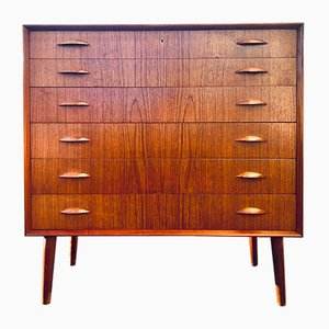Teak Dresser by Johannes Sorth for Nexø Møbeldabrik , 1960s