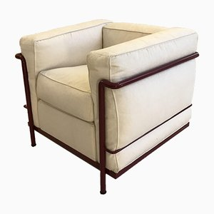 LC2 Sessel von Le Corbusier für Cassina, 1960er
