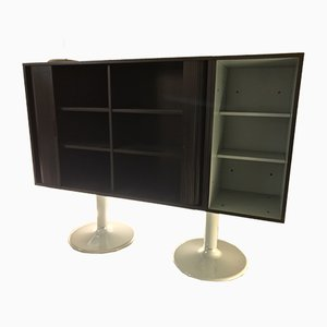 LC20 Casiers Standard Sideboard by Le Corbusier for Cassina, 1985