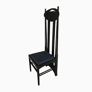 Dining Chair by Charles Rennie Mackintosh for Cassina, 1970s