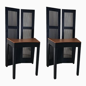 Lubekka Chairs by Andrea Branzi for Cassina, 1991, Set of 2