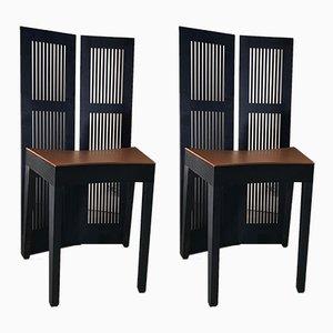 Lubekka Stühle von Andrea Branzi für Cassina, 1991, 2er Set