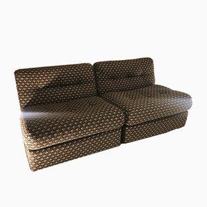 Amanta Lounge Chairs by Mario Bellini for B&B Italia / C&B Italia, 1970s, Set of 2