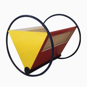 Culla in legno Bauhaus di Peter Keler per Tecta, 1972