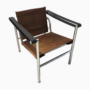 LC1 Armlehnstuhl von Le Corbusier für Cassina, 1970er