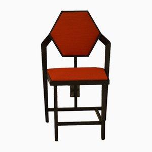 Sedia Midway 1 di Frank Lloyd Wright per Cassina, anni '80