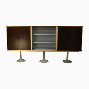 Italian Model LC20 Casiers Standard Sideboard by Le Corbusier for Cassina, 1978