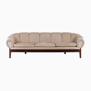 Rosewood Model Croissant Sofa by Illum Wikkelsø, 1950s