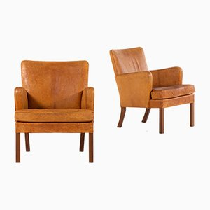 Model 5313 Armchairs by Kaare Klint for Rud. Rasmussen Cabinetmakers, 1920s, Set of 2