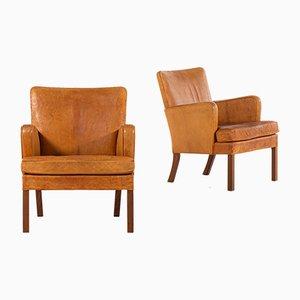 Modell 5313 Sessel von Kaare Klint für Rud. Rasmussen Schreiner, 1920er, 2er Set