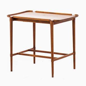 Table d'Appoint Modèle 1775 Blanche par Peter Hvidt pour Fritz Hansen, 1943