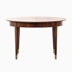 Rosewood Dining Table by Ernst Kühn for Lysberg Hansen & Therp , 1950s