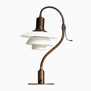 Lámpara de mesa modelo PH-2/2 de Poul Henningsen para Louis Poulsen, años 30
