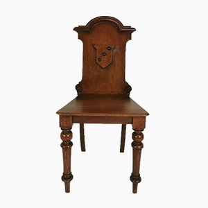 Chaise de Hall Victorienne 19e Siècle
