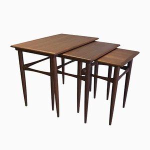 Nesting Tables by Arne Hovmand-Olsen, 1950s