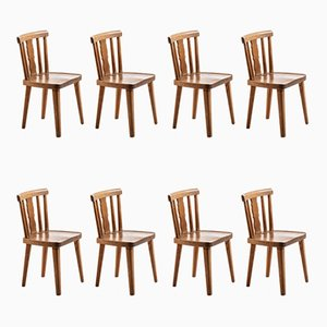 Dining Chairs from Bodafors, 1930s, Set of 8