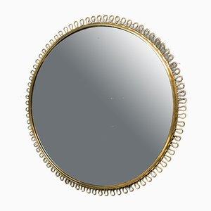 Großer Spiegel mit Messingrahmen von Josef Frank für Svenskt Tenn, 1950er