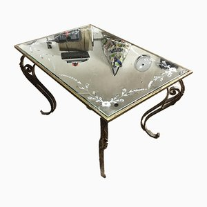 Neoclassical Coffee Table, 1940s