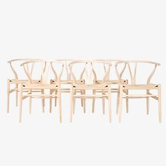 CH24 Wishbone Chairs by Hans J. Wegner for Carl Hansen & Søn, Set of 6
