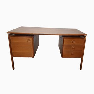 Mid-Century Danish Teak Desk from GV Møbler