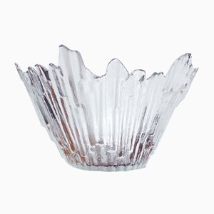 Finnish Glass Bowl by Tauno Wirkkala for Wirkkala, 1960s