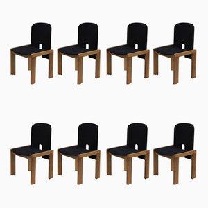 Chaises de Salle à Manger 121 Mid-Century par Tobia & Afra Scarpa pour Probjeto, Set de 8