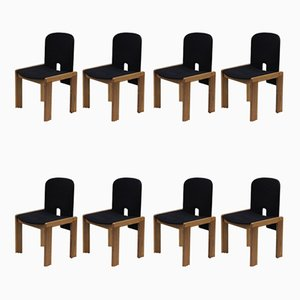 Mid-Century 121 Dining Chairs by Tobia & Afra Scarpa for Probjeto, Set of 8