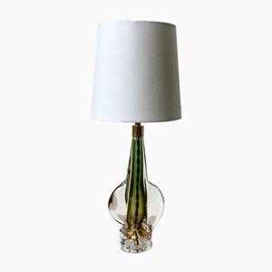 Italienische Vintage Tischlampe aus Muranoglas, 1970er