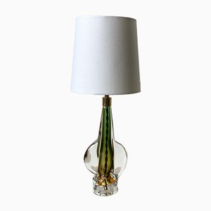 Vintage Italian Murano Glass Table Lamp, 1970s