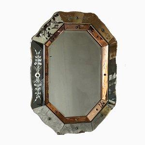 Vintage Art Deco Mirror, 1930s