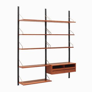 Danish Modern Teak Shelving Unit by Poul Cadovius for Cado, 1960s