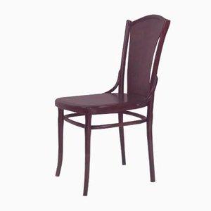 Chaise de Bureau Antique en Bois Courbé de Thonet