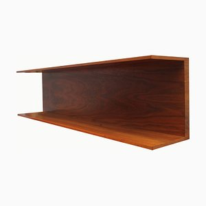 Walnut Shelf by Walter Wirz, 1960s