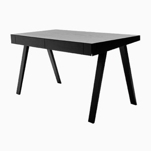 Large Black 4.9 Desk by Marius Valaitis for Emko
