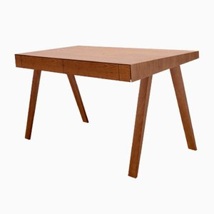 Large Brown 4.9 Desk by Marius Valaitis for Emko
