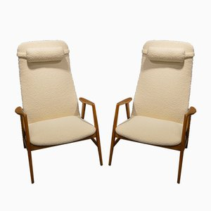 Armchairs by Alf Svensson for Dux, 1960s, Set of 2